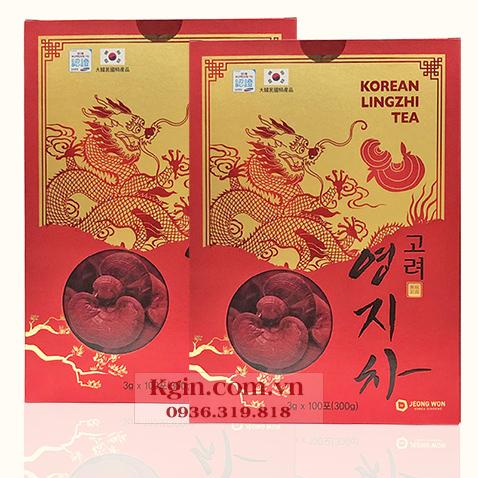 Trà Linh Chi Hàn Quốc