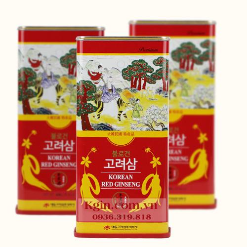 Hồng sâm củ khô Hàn Quốc 150g