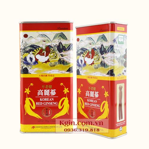 Hồng sâm củ khô Hàn Quốc 75g
