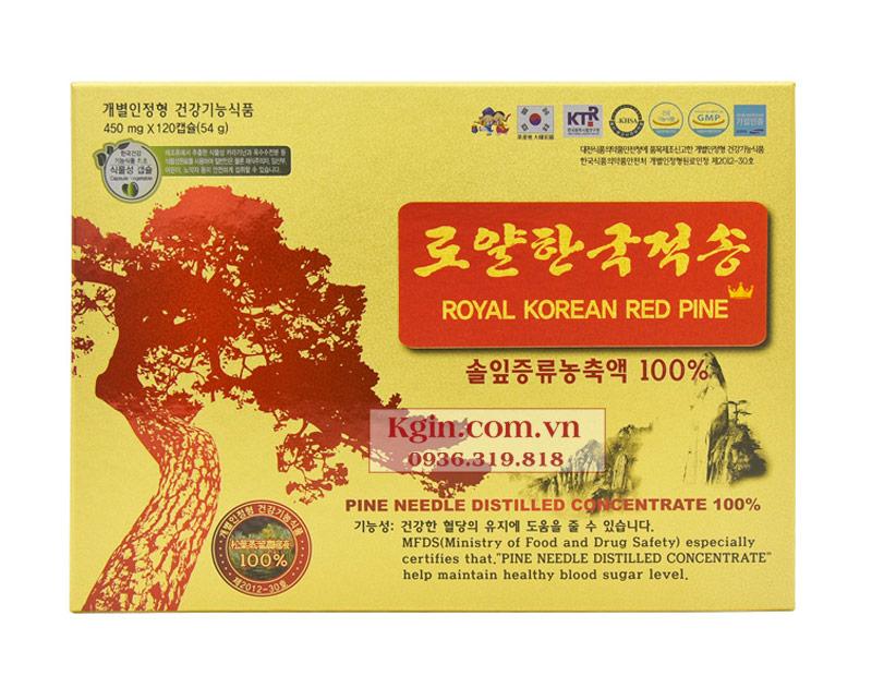 Tinh dầu thông đỏ Royal Korea Hàn Quốc có tốt không?